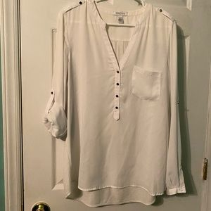 Kenneth Cole Reaction Blouse Large